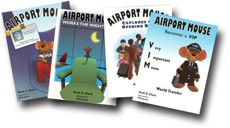 Airport Mouse Becomes a VIP Activity Fun Book 4