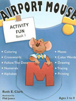 Airport Mouse Activity Fun Book 1